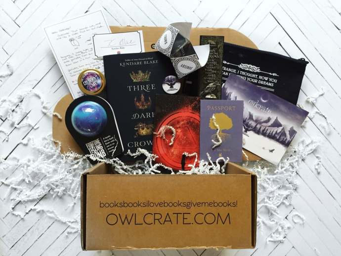owlcrate unboxing 2