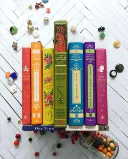 bookish rainbow