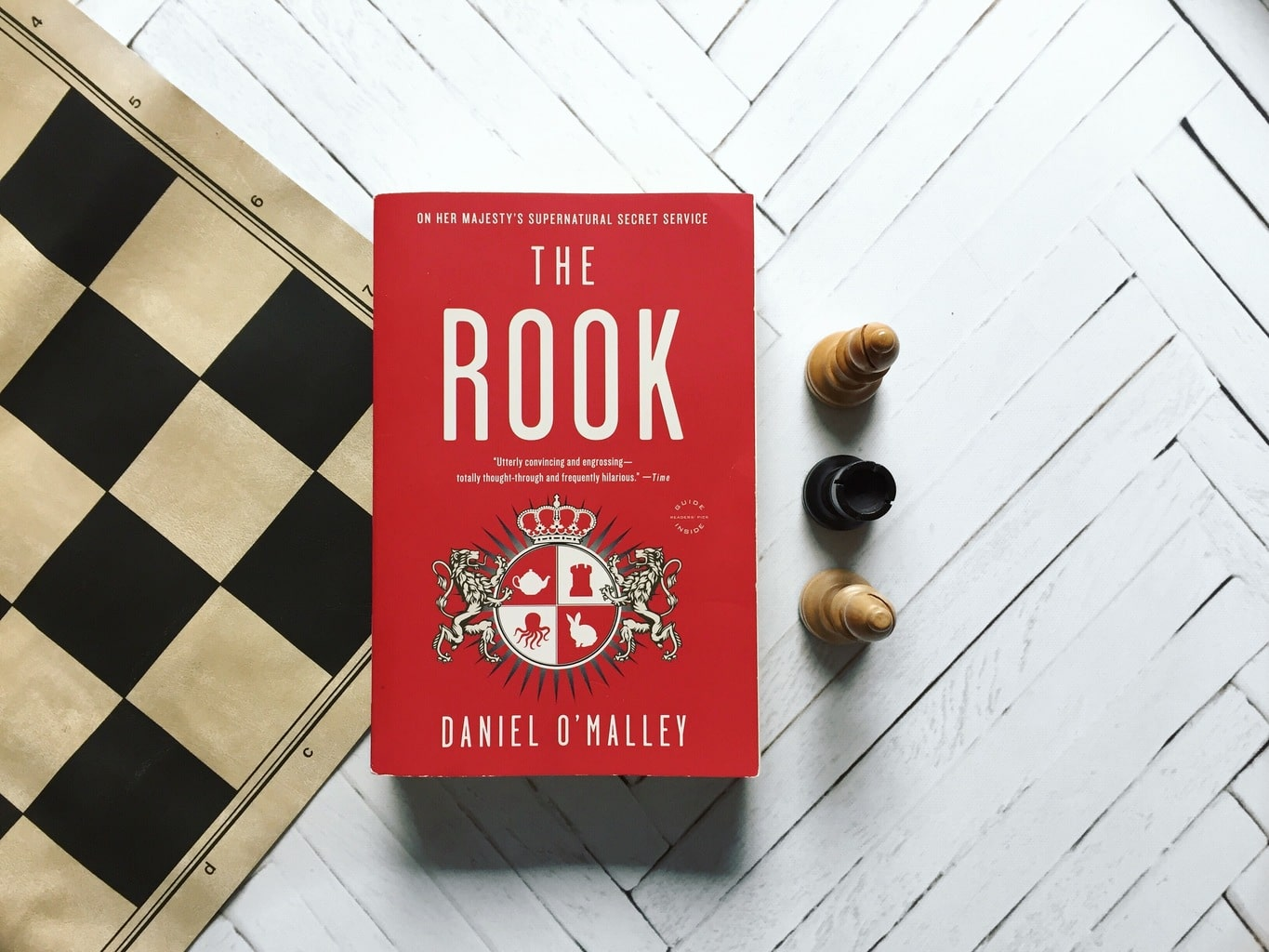 The Rook: A Riotous Look at a Supernatural Secret Service