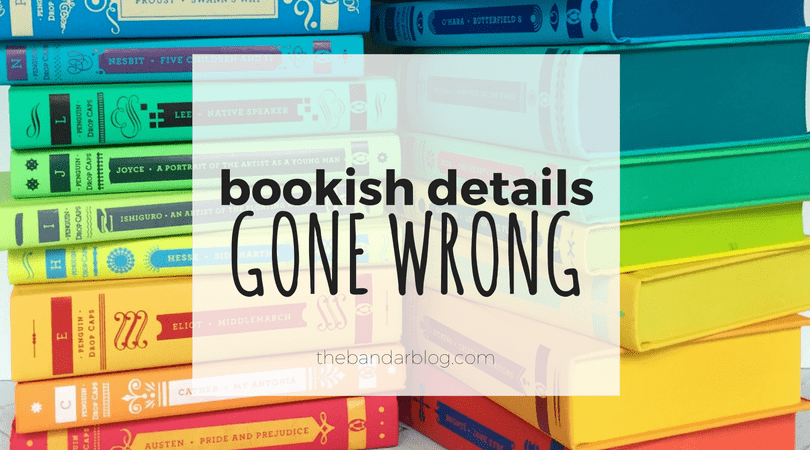 incorrect book details bookish gone wrong