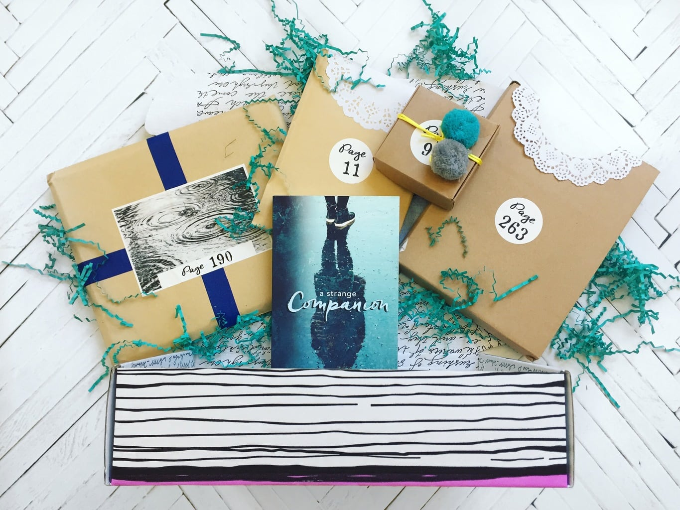 June Once Upon a Book Club Unboxing + A Strange Companion Review