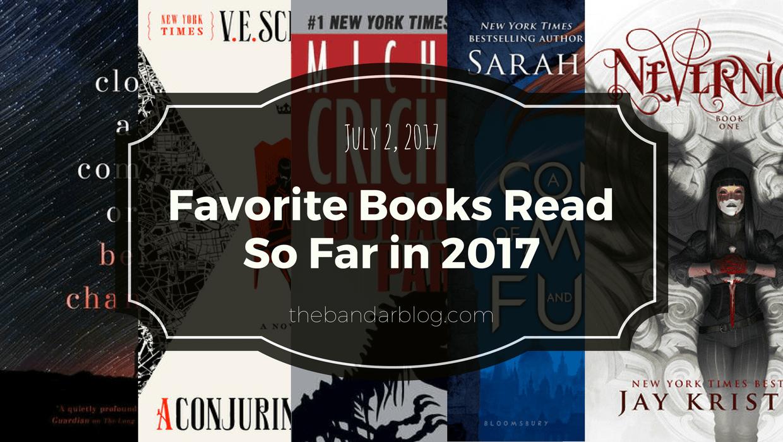 favorite books read 2017