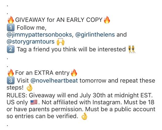 Bookstagram: How To Do An Instagram Giveaway - the bandar blog