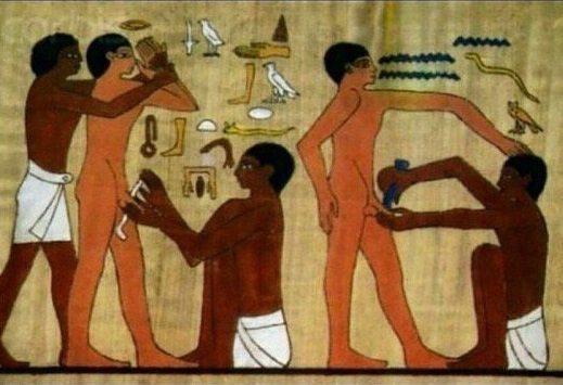 Ancient Egypt: Not Black (Manthropology)