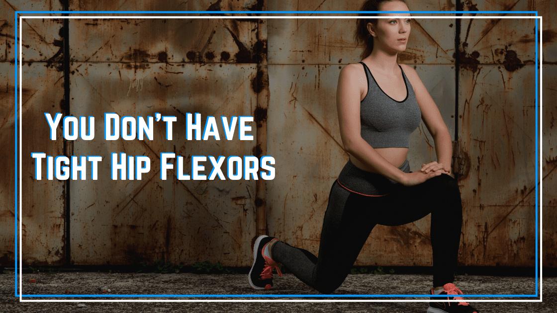 tight hip flexors