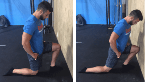 ankle mobility squat