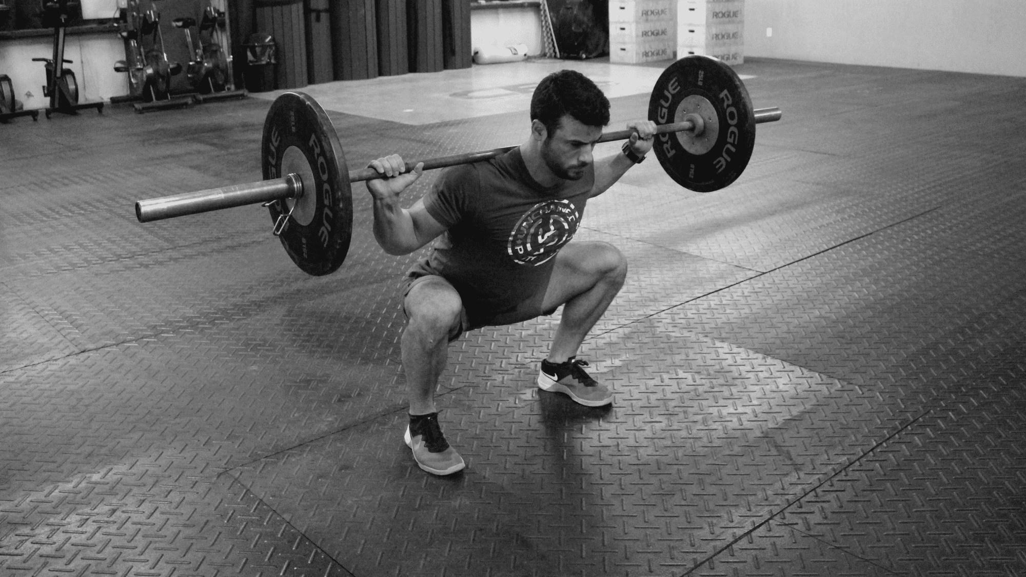 squat upper body mobility