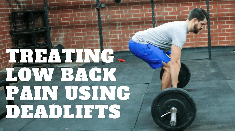 deadlifts low back pain