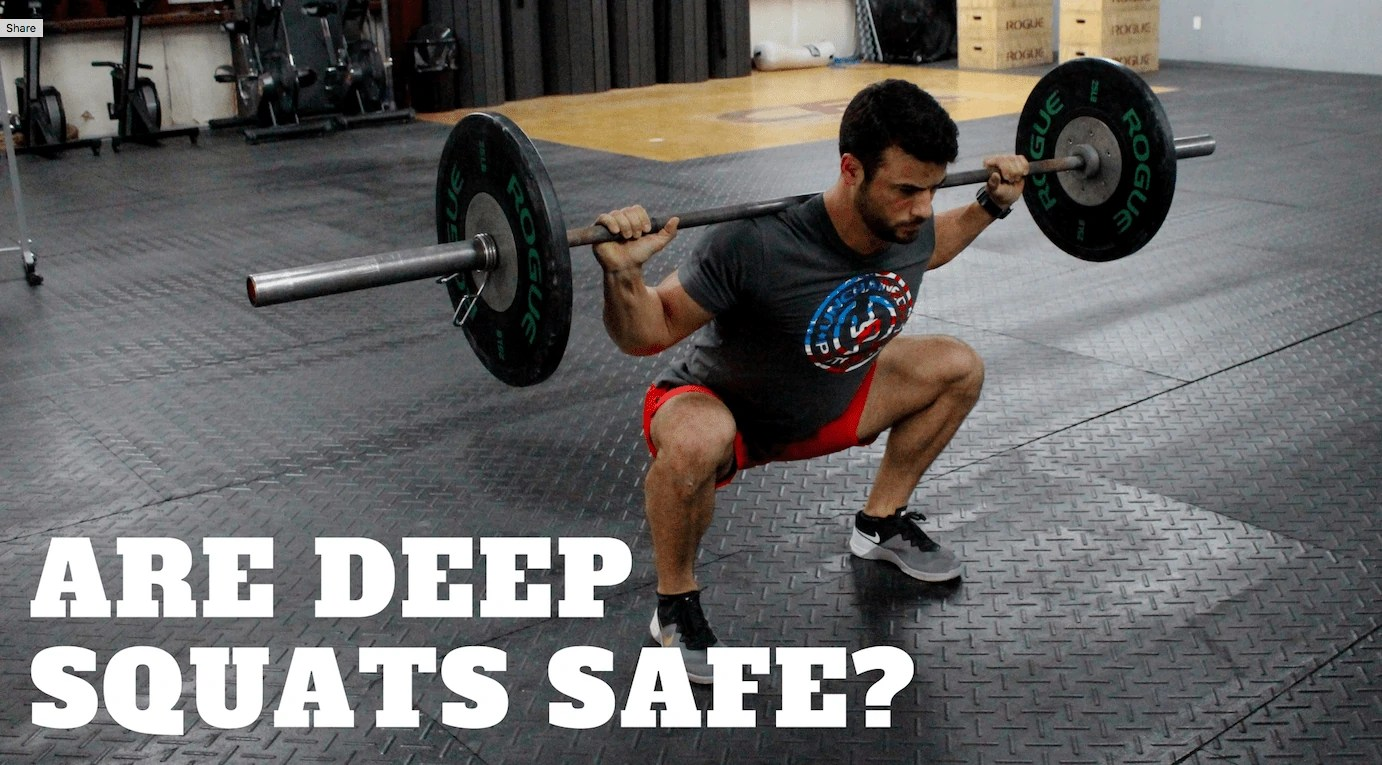 safety of deep squats