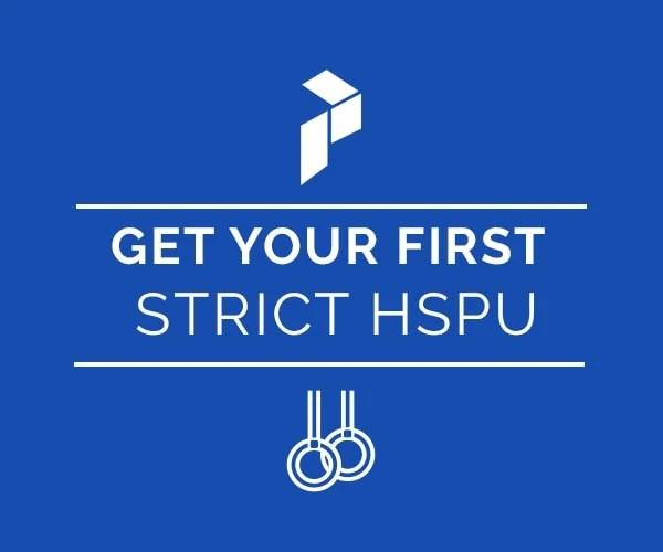 strict handstand push-up logo