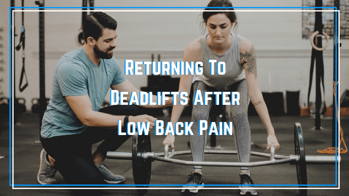 deadlifts after low back pain