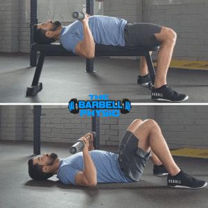 training when injured floor vs bench press