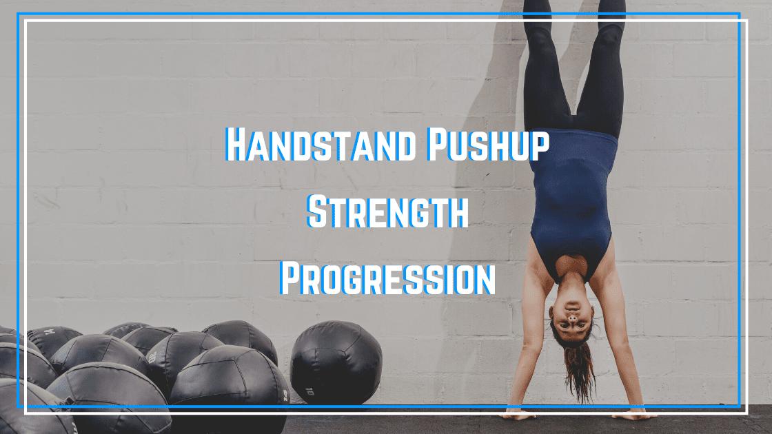 handstand strength progression