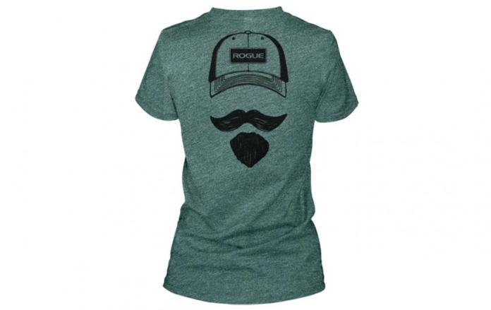Josh Bridges Stache Shirt - Women