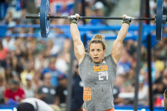 Kara Webb at 2015 CrossFit Games