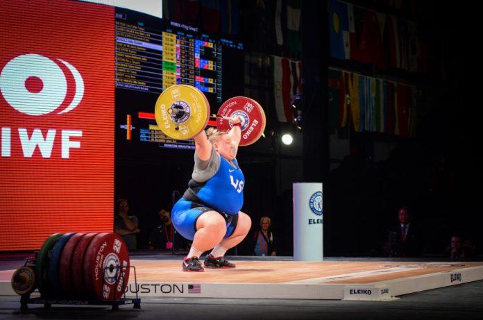 Holley Mangold at 2015 IWF World Championships