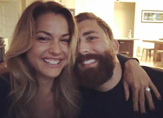 Christmas Abbott is engaged to Geoff Kercher