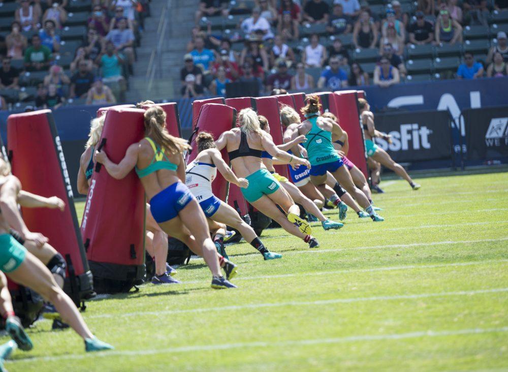 2016 CrossFit Games Women's Suicide Sprint