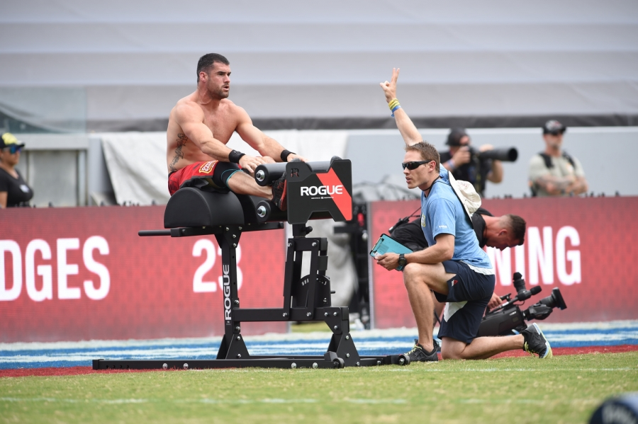 Tommy Hackenbruck at the 2014 CrossFit Games