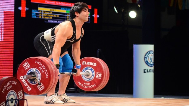 Bastian Lopez Farias at 2015 IWF World Championships