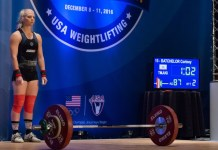 Cortney Batchelor at 2016 USAW American Open
