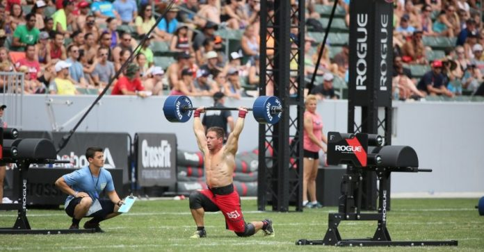Dan Bailey at 2014 CrossFit Games