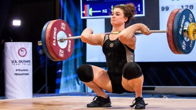 Jessie Bradley at U.S. Olympic Trials