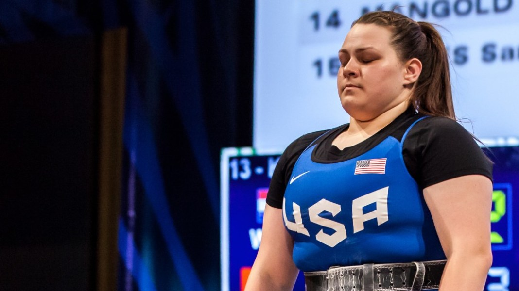Marissa Klingseis at the 2016 USAW U.S. Olympic Trials