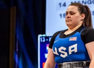 Marissa Klingseis at the 2016 USAW U.S. Olympic Trials