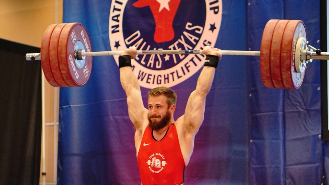 Anthony Pomponio at the 2015 National Championships
