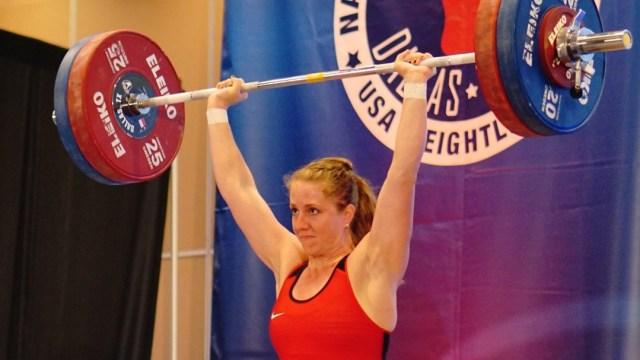 Sarah Estrella at the 2015 National Championships
