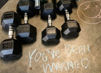 Dumbbells will be featured in the CrossFit Open for the first time.