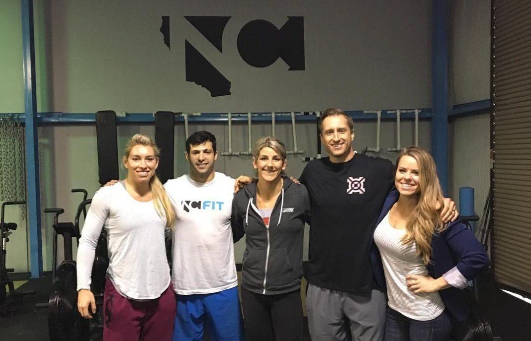 Colleen Fotsch, Raphael Durand, Molly Vollmer, Alex Rollin & Jen Cadmus of Team NorCal 2017