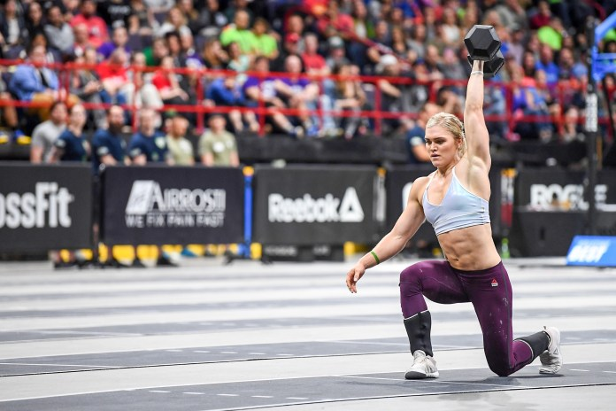 Reigning Games champ Katrin Davidsdottir is proving why she's won the Games twice. Davidsdottir won both events on Day 2 at the East Regional.