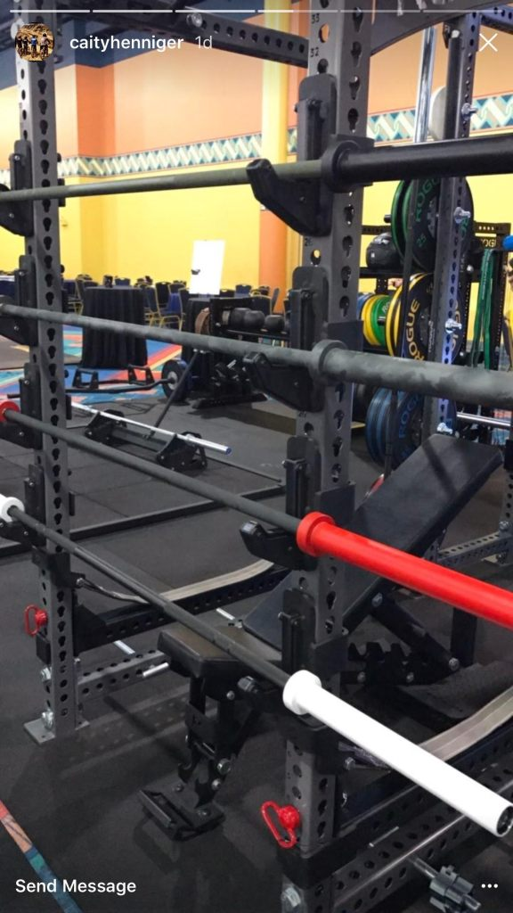 Check out the new custom barbells by rogue fitness the barbell spin