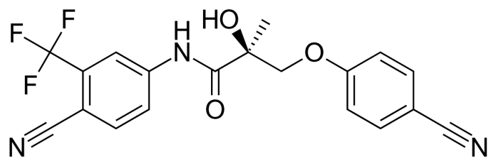Ostarine chemical compound