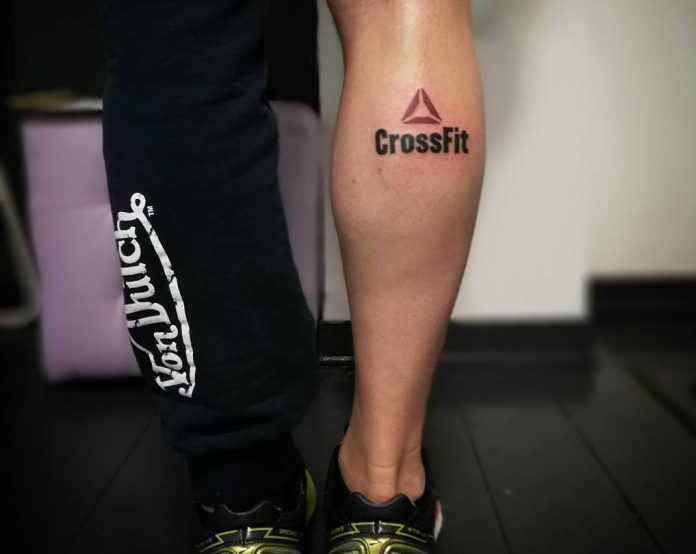 CrossFit-inspiring tattoo. @lapeggy_sanstattoo/Instagram