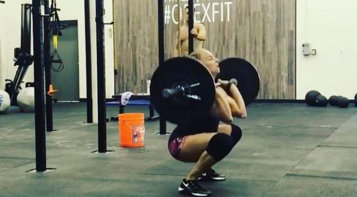 """A """"Fran-ish"""" WOD to wrap up the week. @tennil_reed/Instagram"""
