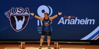 Sarah Robles wins three gold medals at 2017 IWF World Championships. Photo courtesy of Lifting Life.