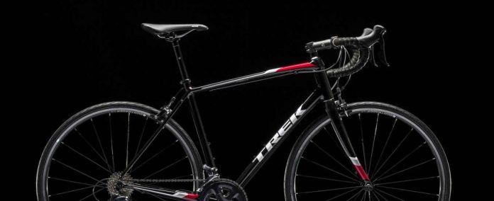 Trek Domane AL 3 that will be used in the first individual event of the 2018 CrossFit Games.