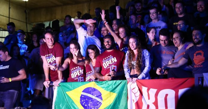 CrossFit Open 18.1 live announcement in Sao Paulo, Brazil. Photo courtesy of CrossFit, Inc.