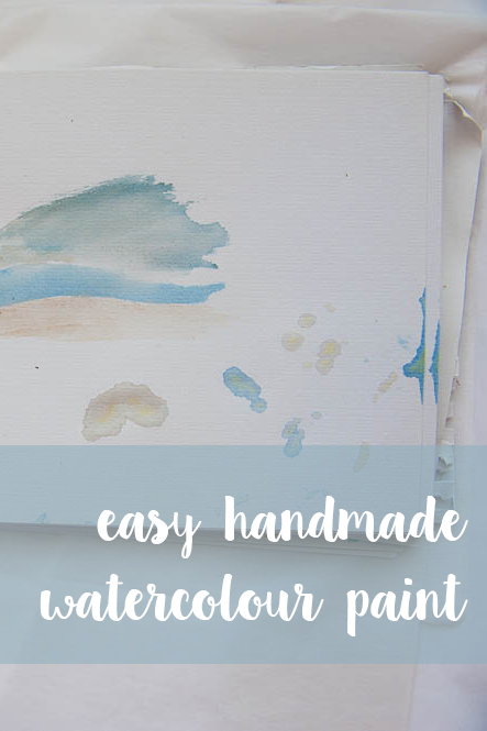 easy handmade watercolour paint