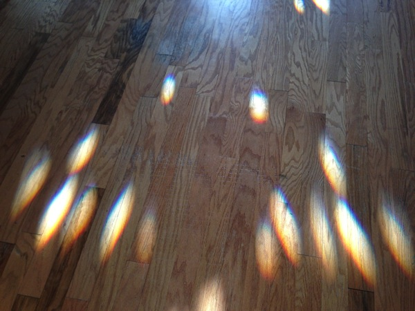 Rainbowsonthefloor