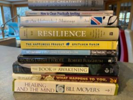 Another stack of books