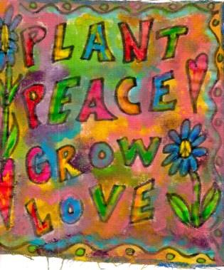 hippie peace flag #3