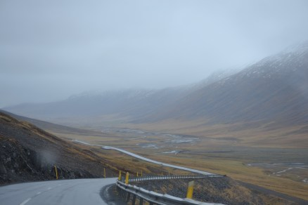 Iceland roads only had guard rails if it meant instant death to go off the side.