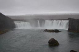 Godafoss where the pagan gods were thrown when the country converted to Christanity