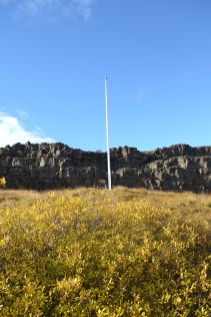 Law Rock where Parliament meet in 930 AD