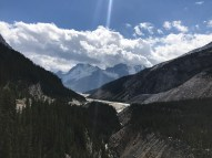 Looking back towards the Icefield.