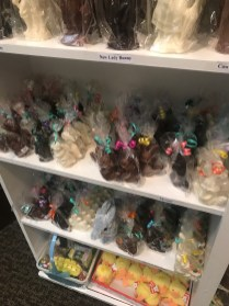 All the cute Easter treats at Chocolate Tree.